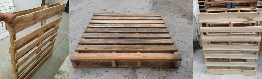 Tarimas de madera recicladas propinsa for Tarimas de madera recicladas